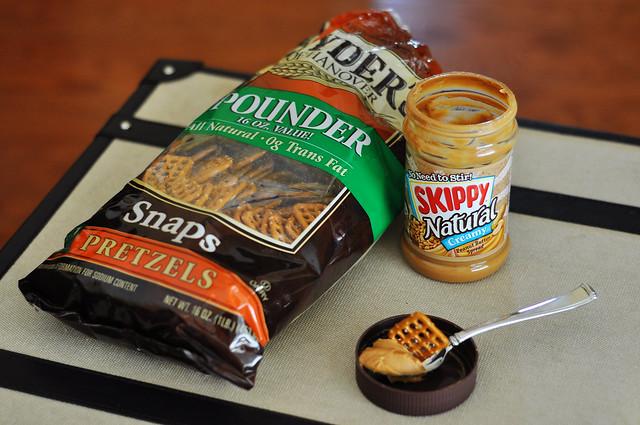 pretzels with pb