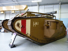 Mark V (Male) Tank (Chris (Midland05)) Tags: england war tank bovington warmachines thetankmuseum
