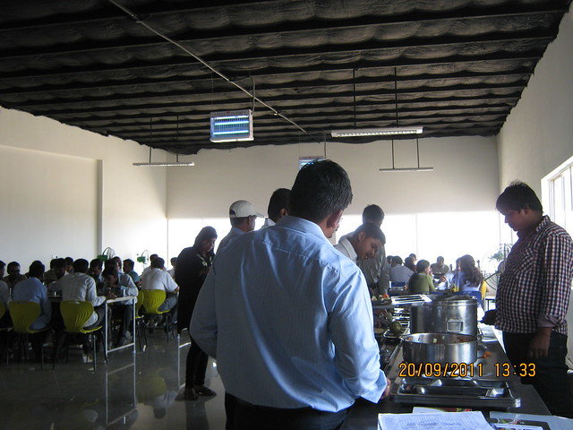 "Lunch time at Kolte-Patil I-Ven ""Special"" Township at Marunje Hinjewadi Pune"