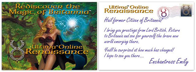 Ultima Online: Renaissance: Enchantress Emily