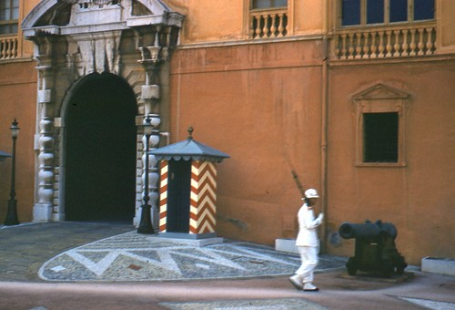 Prince Rainier & Grace's Palace Monaco