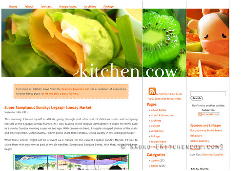 Kitchen Cow 2007-2011