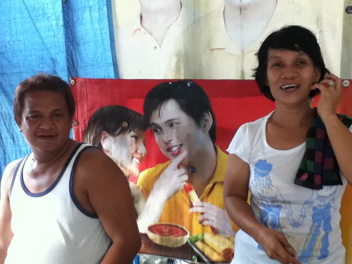 Ate Babes' mami and lugaw