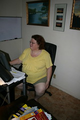 Toni (TrotlineDesigns (Ron Joseph) In The Glades) Tags: sexy yellow fat bbw stumpy stump wife amputee nub ssbbw