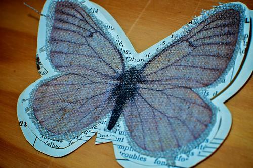 Paper Butterflies: One Specimen