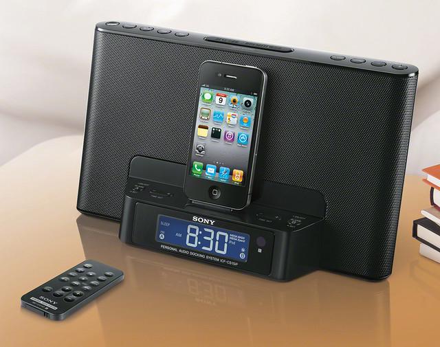 Sony ICF-DS15iP (Black)