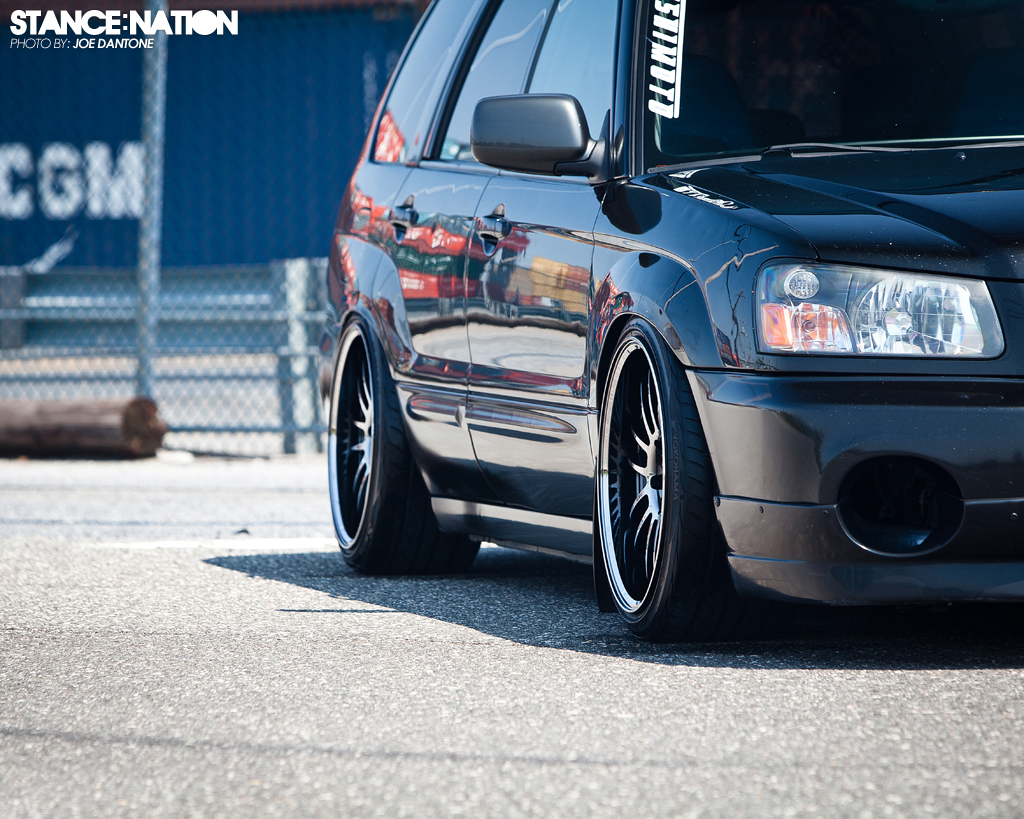 Dumped Forester STi?