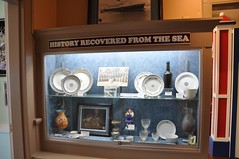 History Recovered From The Sea (Mod Betty / RetroRoadmap.com) Tags: history beach museum md maryland boardwalk oceancity lifesaving ocmd