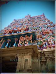 Gopuram-Madurai Meenakshi Amman Temple