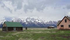 TetonBarns (RealtorNigel) Tags: mountains nationalpark mormon tetons grandteton mormonbarn