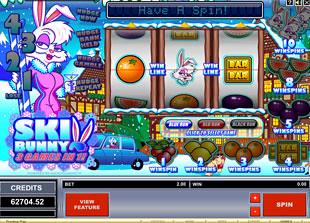 Ski Bunny slot game online review