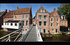 The hanging kitchens of Appingedam / De hangende keukens van Appingedam (Bert Kaufmann) Tags: panorama holland monument netherlands canal nederland panoramic nl groningen monuments paysbas olanda niederlande gracht appingedam panoramisch hangingkitchens hangendekeukens