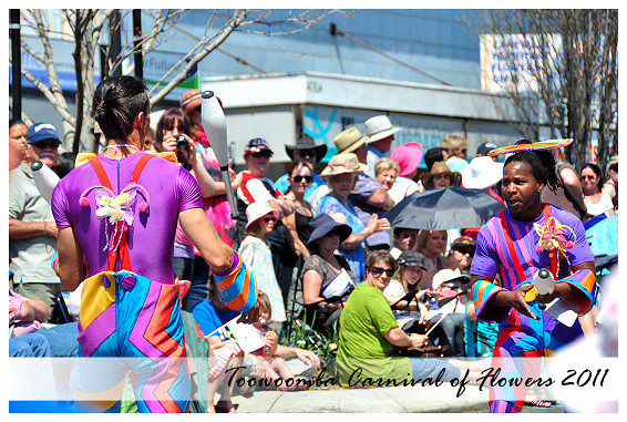 62nd Toowoomba Carnival of Flowers: Floral Parade 2011