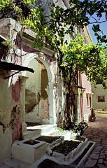 Corfu Doorway (Howard Somerville (2 million views)) Tags: picturesque
