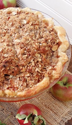 new england apple crisp pie