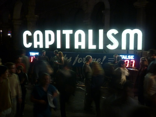 Capitalism Works For Me! at Ingenuity Fe by SPACES (Cleveland), on Flickr