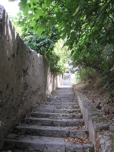 Lots of stairs