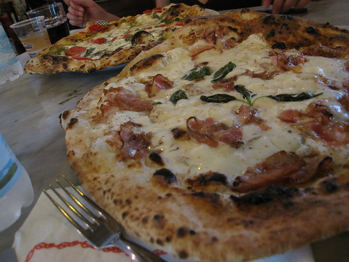 Our pizzas at Gino Sorbillo