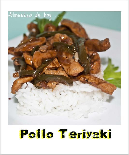 Pollo Teriyaki ...{Receta}