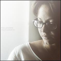 Like a ghost (Paolo Castronovo) Tags: light shadow portrait woman 6x6 girl beauty face female canon mediumformat square glasses colours shadows faces naturallight lips ritratti ritratto canon50mm18 500x500 beautyshoots paulinnaire