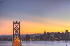 Bay Bridge & San Francisco (KP Tripathi (kps-photo.com)) Tags: sanfrancisco evening treasureisland baybridge bluehour hdrbaybridgesanfranciscoevening
