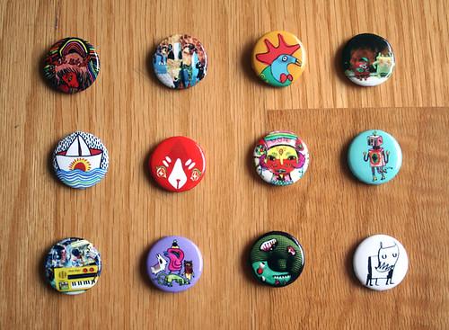 new pins!