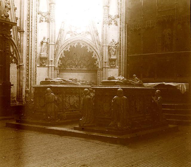 Capilla del Condestable en la Catedral de Toledo en 1913. Fotografía de Luis Calandre Ibáñez