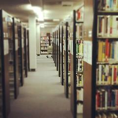 Visiting my old job. Former librarian.