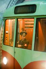 Pyong Yang Metro (Airborne Observator) Tags: pictures travel travelling underground subway photo asia metro propaganda kimjongil backpacking driver asie coree northkorea pyongyang dictatorship corea dprk juche kimilsung socialistrepublic coreadelnord coreedusud dpkr rdpc rpdc jucheidea coreiadonorte volksrepubliknorthcorea stalinistideology people´srepublickorea