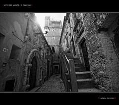 Castel del monte - il campanile (Andrea di Florio (8.000.000 views!!!)) Tags: del campanile piazza monte borgo castel abruzzo laquila aquila wow1 wow2 wow3 wow4 dblringexcellence andreadiflorio 6timesasnice 5timesasnice 7timesasnice