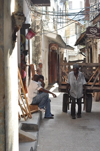 Stone town back street
