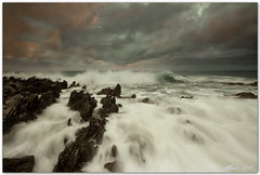 at dawn (chris frick) Tags: morning sea storm dawn waves filter lee sicily sanvitolocapo canonef1635mmf28liiusm chrisfrick canoneos5dmark2 075hard