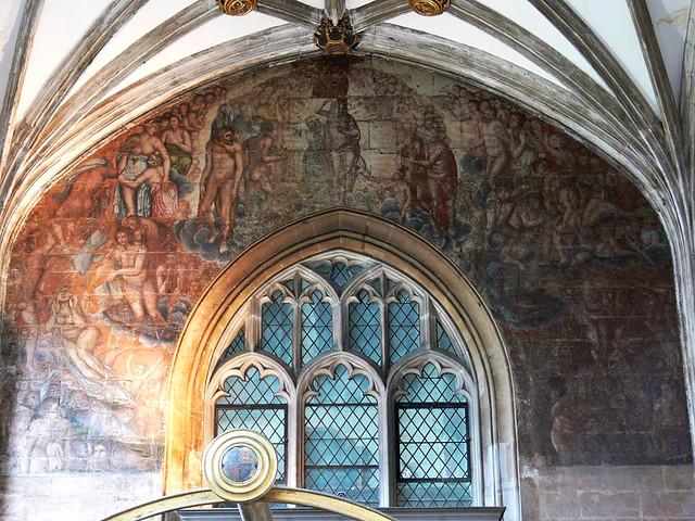 Doom painting fresco copy