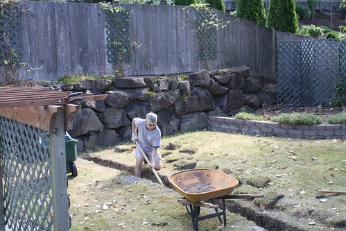 Dad Digging