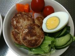 朝食サラダ(2011/9/25)