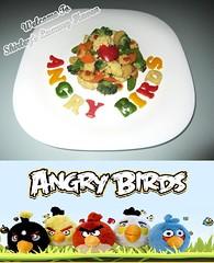 Angry Birds Mixed Vegetables With Love From Helsinki! (Blackswanst) Tags: kids children fun ginger corn broccoli vegetable carrot cauliflower foodart capsicum bellpepper rovio angrybirds