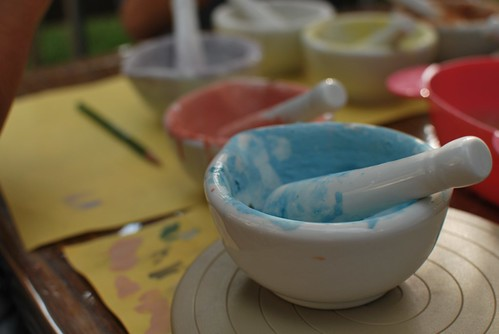 pigments for pottery