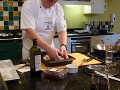 Lunch Masterclass (Thirsk) Tags: lunch cream pork cookery agar masterclass swintonhall