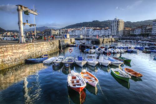 Boats. Castro-Urdiales, Cantabria. Botes