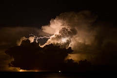 Istanti di tenebrosa bellezza (scarpace87) Tags: sea sky storm night clouds dark stars nikon nuvole mare cielo soul lightning anima thunder notte buio temporale stelle lampi tuoni 85mmais d7000