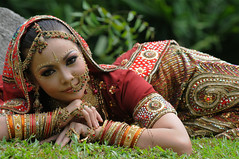 Indian Traditional Dress (Samu3l Xavi3r) Tags: girl beauty asia dress indian traditional malaysia potrait malaysian potraiture beautyshoots