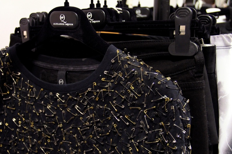 MCQ fall 2011 selfridges installation 5
