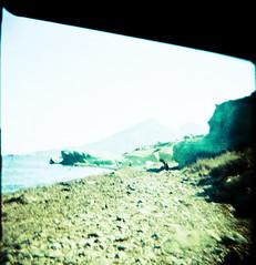 007 (Zé.Valdi) Tags: sea beach mar holga lomo lomography xprocess spain crossprocess playa cabodegata almera