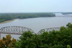 Mississippi Bridges (elhawk) Tags: bridges missouri mississippiriver louisianamissouri