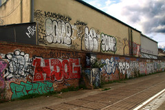 (Alex Ellison) Tags: urban graffiti bc tag sickboy smc eastlondon masika burningcandy masica pop87 masicre masiker masikre