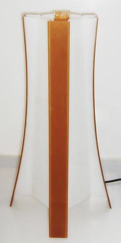 Velador de Acrílico de Diseño Moderno - Lámpara para Sala Comedor Living - Iluminacion by Ludica Iluminacion