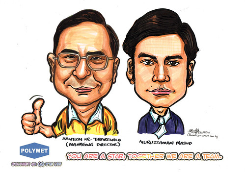 Caricatures for Polymet - 12