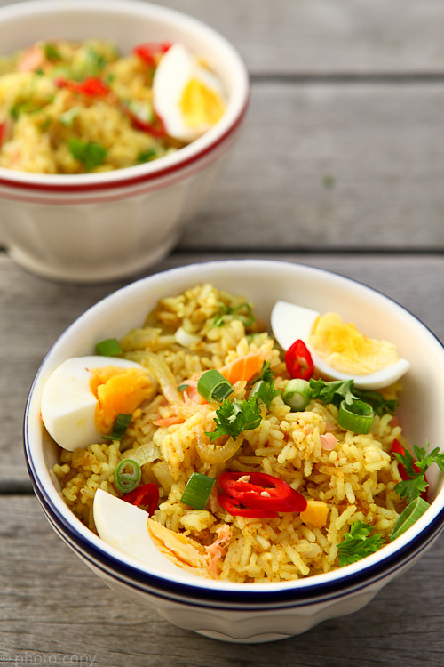 smoked salmon kedgeree (Explore)