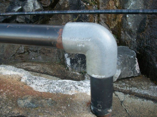 Whiteface Mt. Kee Klamp Pipe Railing