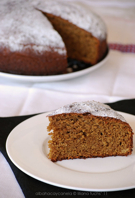 Kamut ginger cake